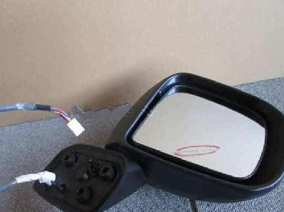 Movable Right Side Mirror With Indicator