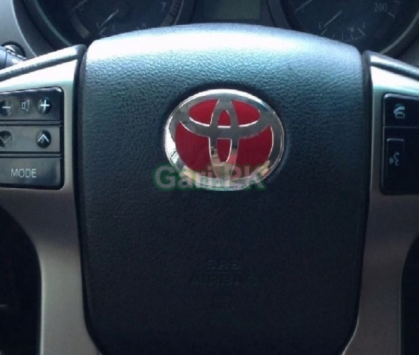 Toyota Steering Logo Red Available