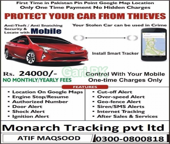 Track your Car with GPS/GSM Tracking System