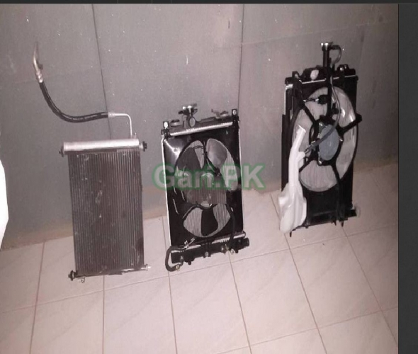 Nissan Days & Ek Radiator Kit with fan motor and c