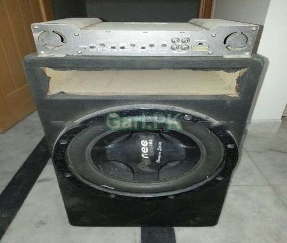 PIONEER WOOFER AND TNT AMPLIFIER