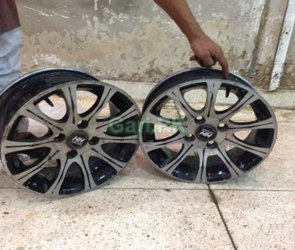 14 SIZE ALLOY RIMS AVAILABLE