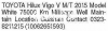 Toyota Hilux Vigo Champ V 2015 For Sale in Karachi