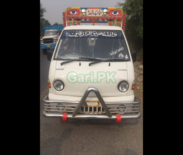 Hyundai Shehzore Pickup H-100 (With Deck and Side Wall) 2002