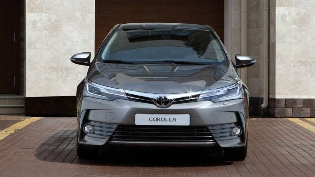 Toyota Corolla Test Mule in Pakistan