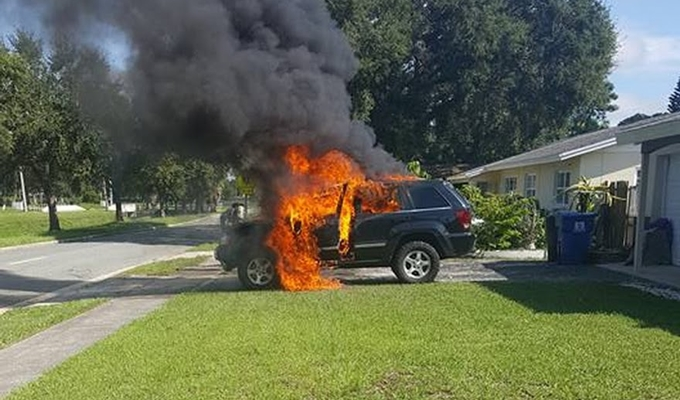 What to Do If Car Catches Fire