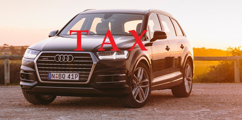 Excise and Taxation Remove Luxury Tax on Imported Vehicles