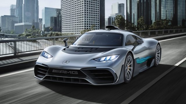 Mercedes 1000HP Project One Hypercar