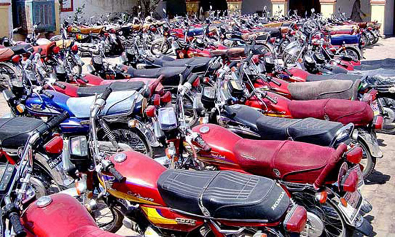 Motorcycle Sales in New Fiscal Year