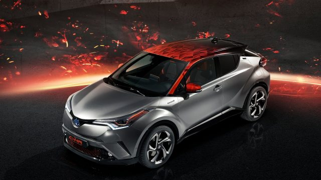 NEW TOYOTA C-HR 2018 HY-POWER CONCEPT UNVEILED