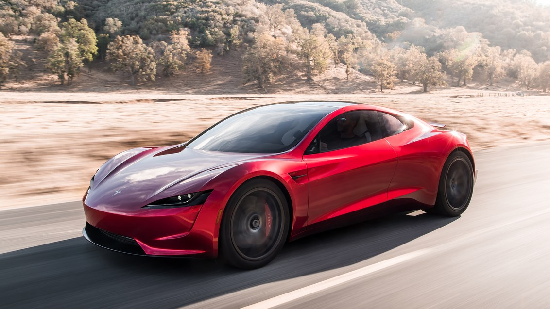 Tesla Unveils New 2nd Gen Roadster