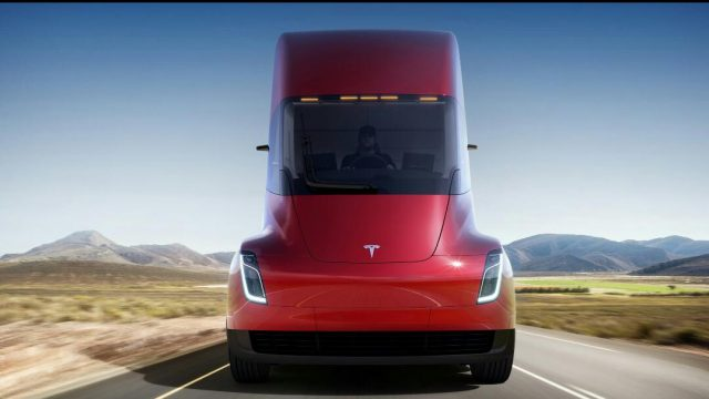 Tesla Unveiled All New Electric Truck