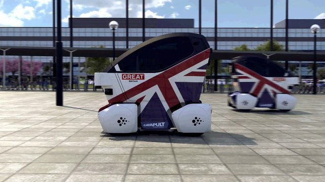 Driverless Cars in England