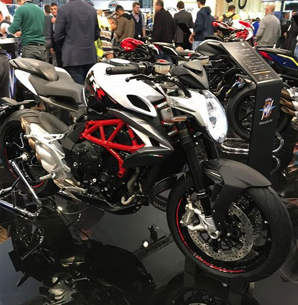The Annual Motorcycle Show in Italy