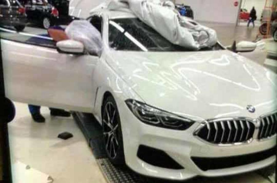 Latest BMW 8-Series leaked Car Images 2018