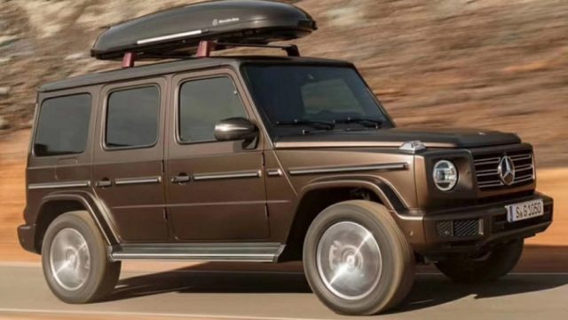 Mercedes-Benz 2019 G-Class Leaked Car Images