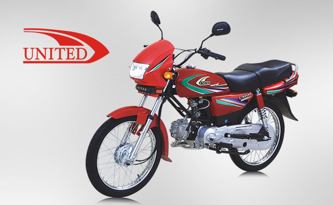 United Motorcycles Increased Sales in Pakistan Dec 2017
