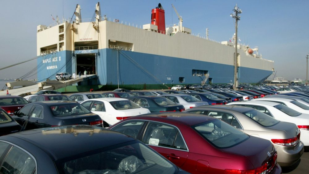 Imported Cars Stuck at Karachi Port