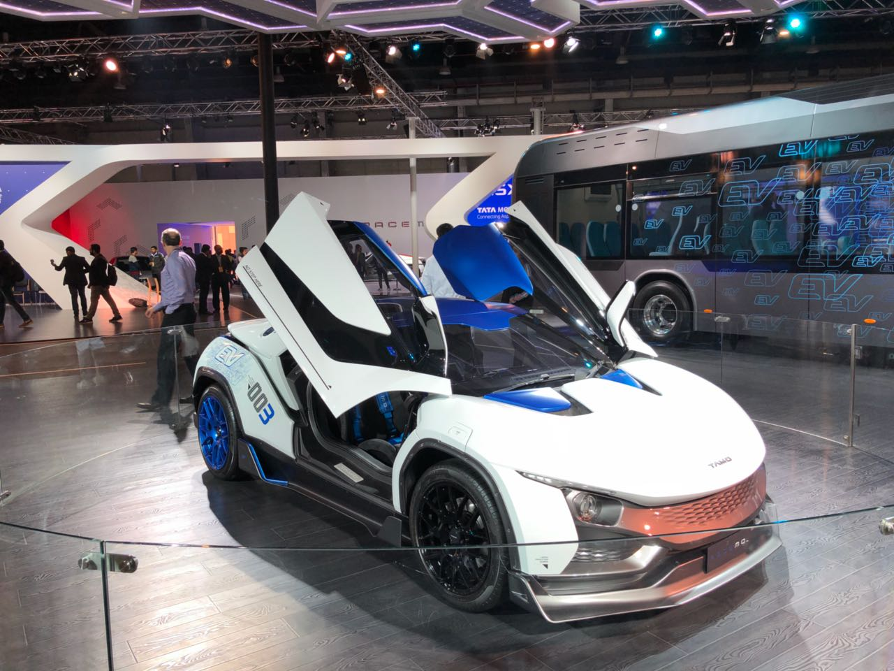 Electric Vehicles in 2018 Auto Expo