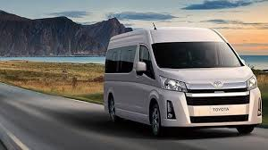 The latest 6th generation Toyota Hiace has been uncovered in