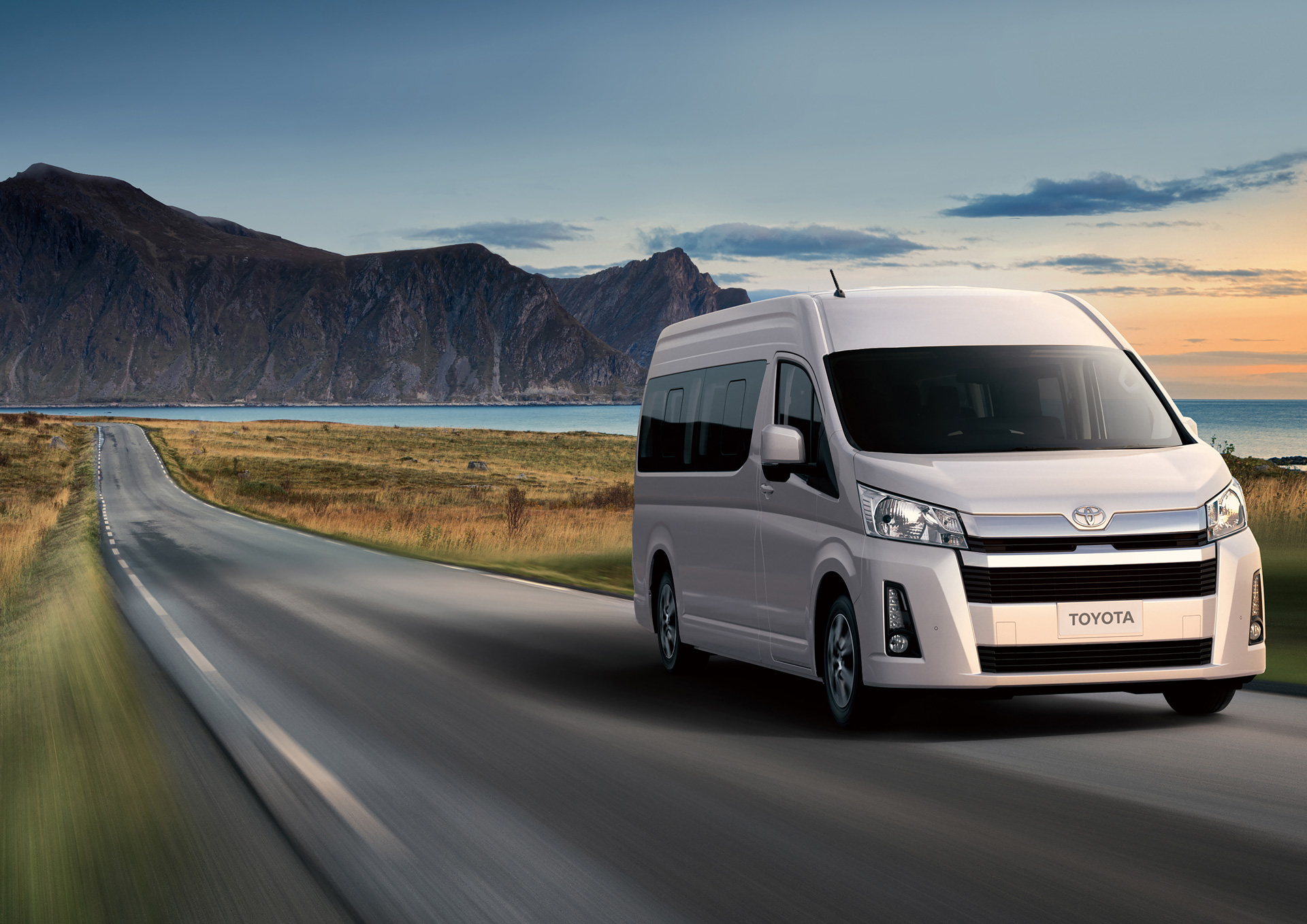 Toyota Unveils Two Expensive Hiace Models