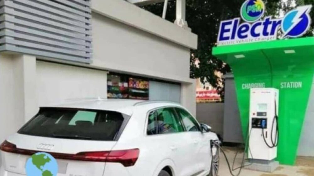 Islamabad New Electric Vehicle Charging Station