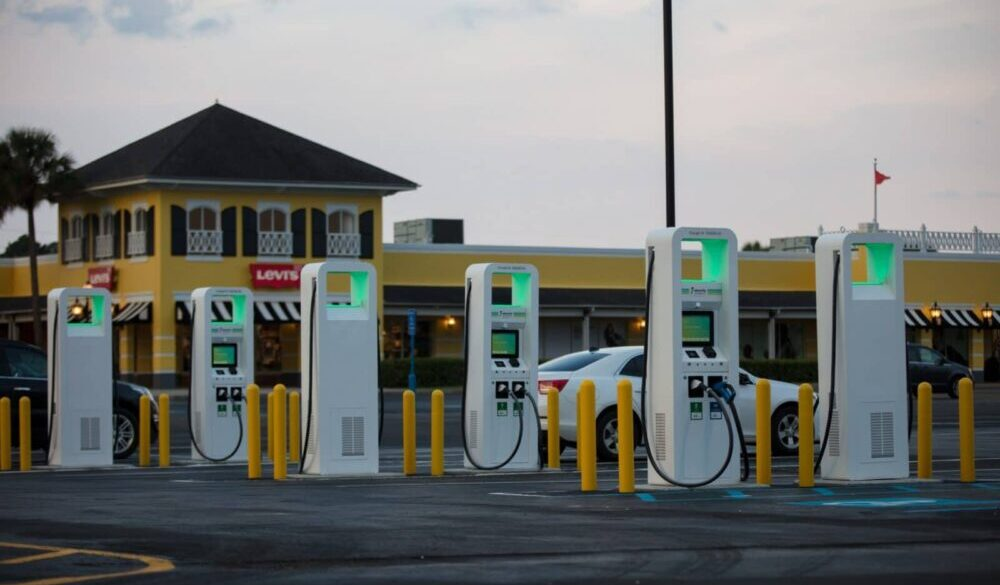 Installation of 24 Electric Vehicle Charging Points Across P