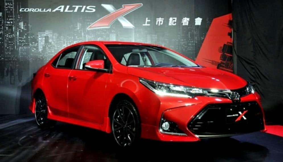 Toyota IMC Corolla X-Package Increase Prices Rs.100,000