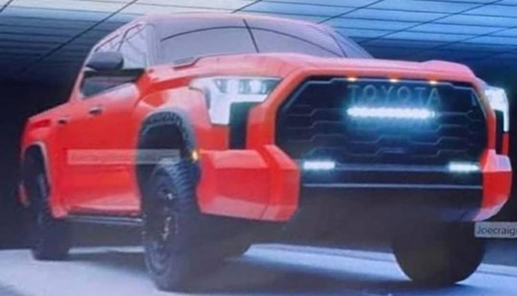 Here Are Leaked Images Of Toyota Tandra