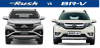 Comparison BETWEEN TOYOTA RUSH AND HONDA BR-V